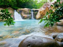 Waterfall at the Rincon de la Vieja National Park, Costa Rica