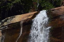 Waterfall at Verna Falls, CA