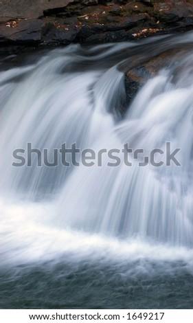 Waterfall. Blackwater Falls State Park, West Virginia, USA