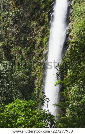 Waterfall Catarata Rio Fortuna in Costa Rica - La Fortuna, Alajuela province, Costa Rica