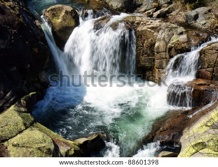 Waterfall in Castro Laboreiro