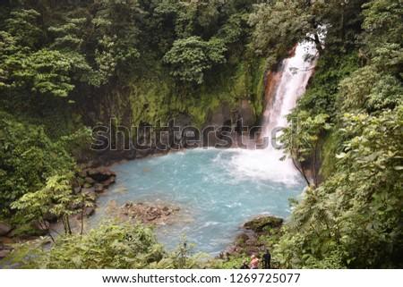 Waterfall in Costa Rica #1269725077