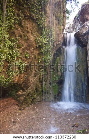 Waterfall in Gorge du Dades in Morocco