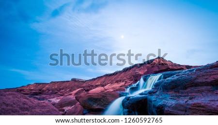 waterfall in Prince Edward Island #1260592765