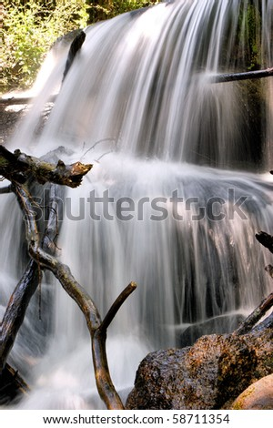 Waterfall in Queimadela, Fafe