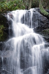 Waterfall in Sequoia National Park