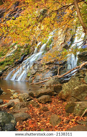 Waterfall in Shenandoah National Park