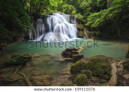 waterfall in thai national park