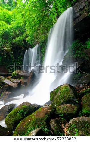 Waterfall in the jungle,Loei,Thailand
