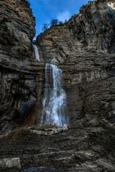 Waterfall in the Pirineos, Spain