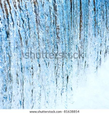 Waterfall macro (background)