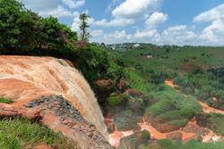 Waterfall of the Elephant, Dalat, Vietnam.