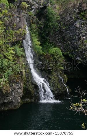 Waterfall on Hana Hwy