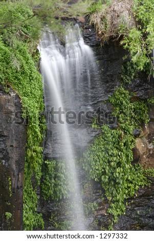 Waterfall  over ledge