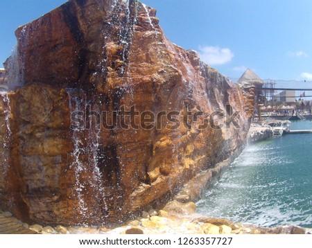 waterfall pond life #1263357727