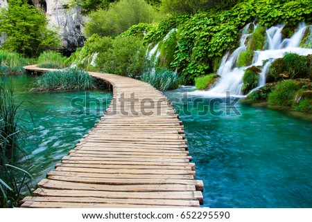 waterfall walk