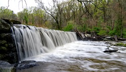 Waterfalls at Ridley Creek State Park