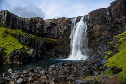 Waterfalls in and around Iceland