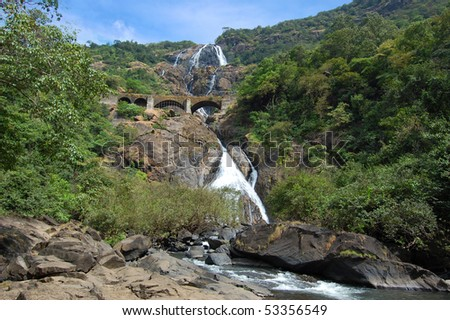 WaterFalls, Indian National Park, Goa