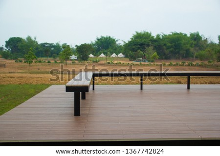 Waterfront,Waterfront in the garden, #1367742824