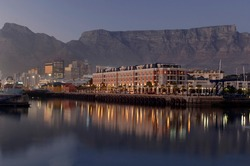 Waterfront With Table Mountain Backdrop
