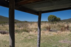 Waterhole pioneer shepherd hut Namadgi National Park