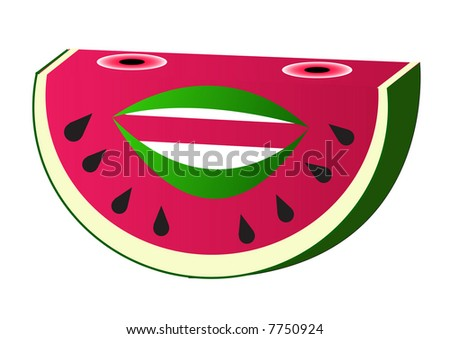 watermelon fruit cartoonWatermelon Cartoon Characters