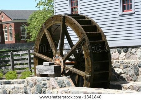 Waterwheel and Mill House