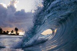 Wave at Sandy Beach on Oahu