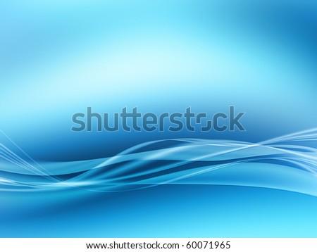 wave background blue