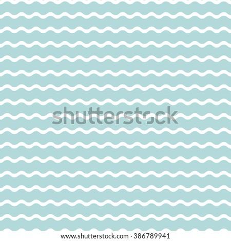 wave blue background, seamless pattern. decorative ornament