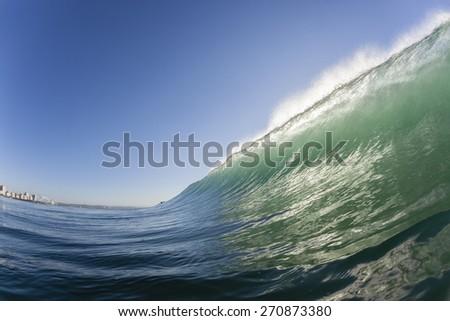 Wave Blue Water Wave swimming scenic crashing ocean sea water energy