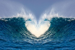 wave heart