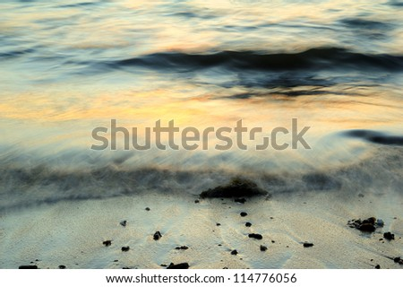 wave motion abstract - stock photo