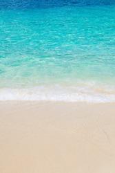 Wave on Bacardi island, Dominican republic