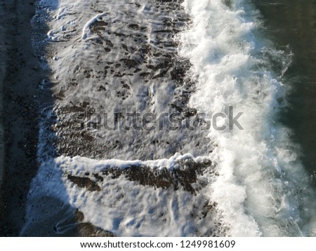 Wave spray surf #1249981609