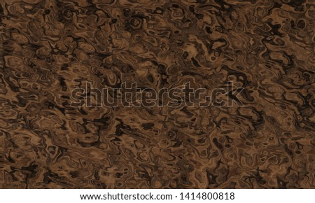 Wave stains on the brown basis of brown color.Texture or background.