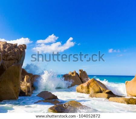 Waves Beach Storm