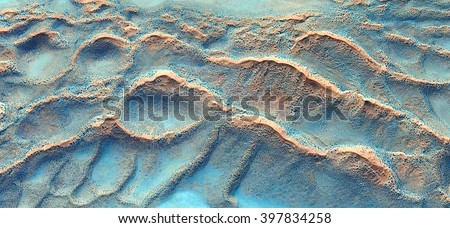 waves in the desert,Turquoise, Photographs magic, just to crazy, artistic, abstract, from the deserts of Africa from the air, landscapes of your mind, optical illusions