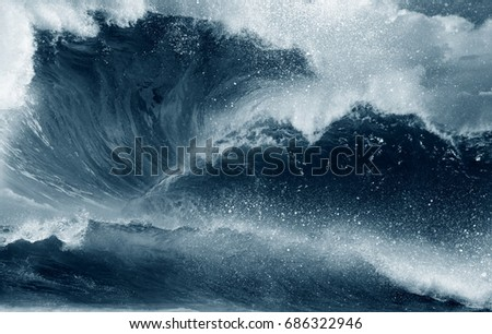 Waves - sea wave ocean