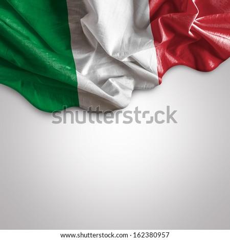 Waving flag of Italy, Europe