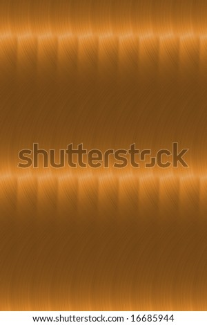 Wavy copper plate background