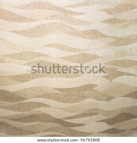 Wavy golden background/texture