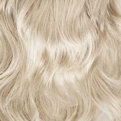 Wavy hair fragment as a texture background composition