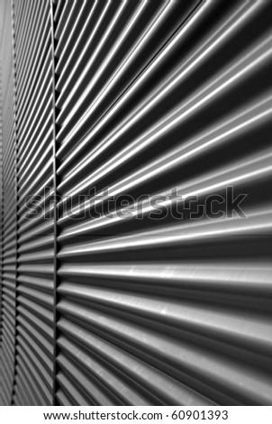 Wavy Metal Wall Stock Photo 60901393 Shutterstock