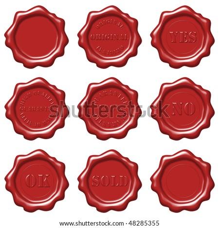 Wax seal set