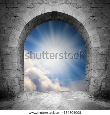 Way to heaven. Heaven gate.