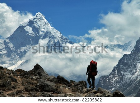 Way to the Ama-Dablam