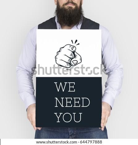 We need you hiring employment work