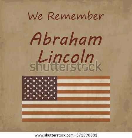 we remember abraham linkoln
